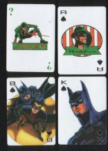 Collectable playing cards. Batman Forever. 1994